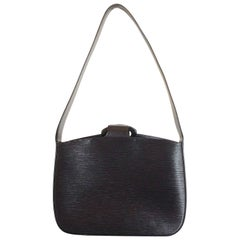 Louis Vuitton Black EPI Leather Reverie Handbag Shoulder bag