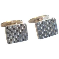 Pair of Georg Jensen cufflinks Design no. 113 by Flemming Eskildsen