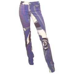 Emilio Pucci Cotton Stretch Skinny Jeans Size 4. Never Worn.