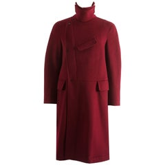 E. Tautz Autumn-Winter 2014 Men's red overcoat