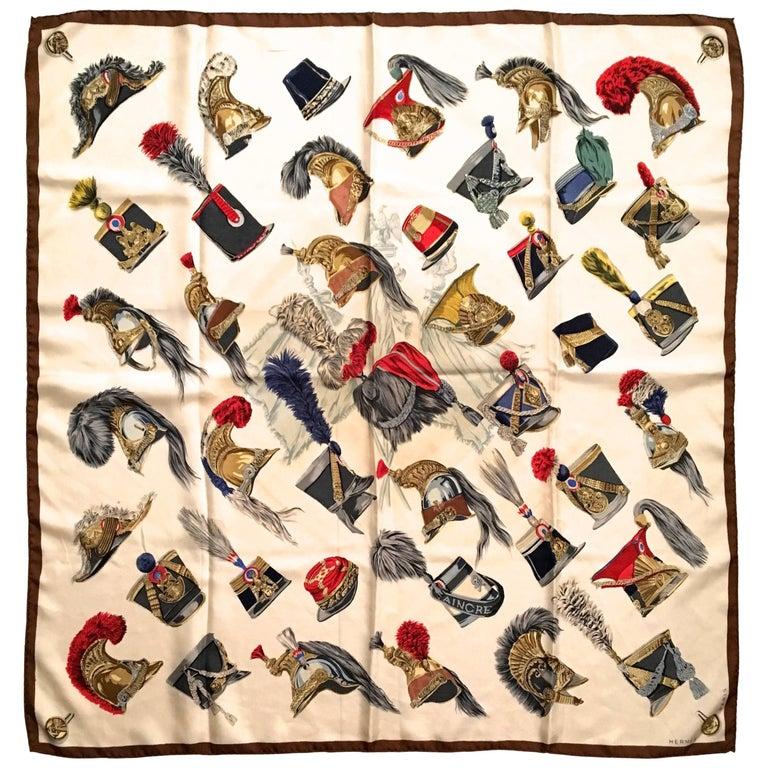Rare Vintage Hermes Scarf - 100% Silk