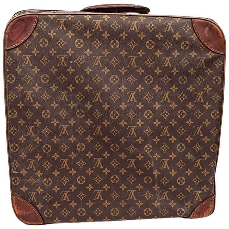 Vintage LOUIS VUITTON Soft Suitcase in Monogram Canvas