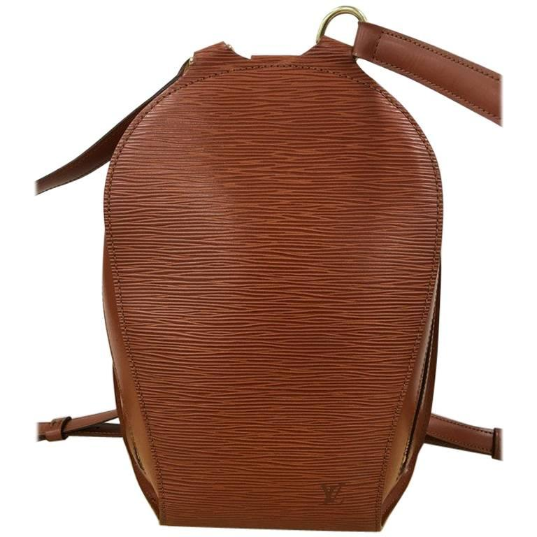 1ca719f23aa0 Louis Vuitton Mabillon Backpack Epi Leather at 1stdibs