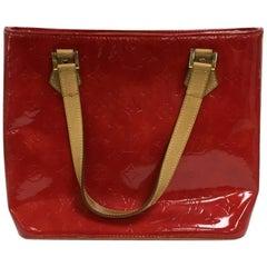 Louis Vuitton Houston Handbag Monogram Vernis