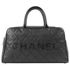 WOW! A Pristine Chanel Limited Edition 28cm   Sac Classique  by Karl ... c6d90cb0e93