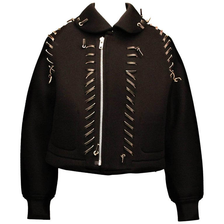 Comme des Garcons Runway Cropped Jacket 2004