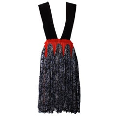 Comme Des Garçons Shibori Pinafore Dress