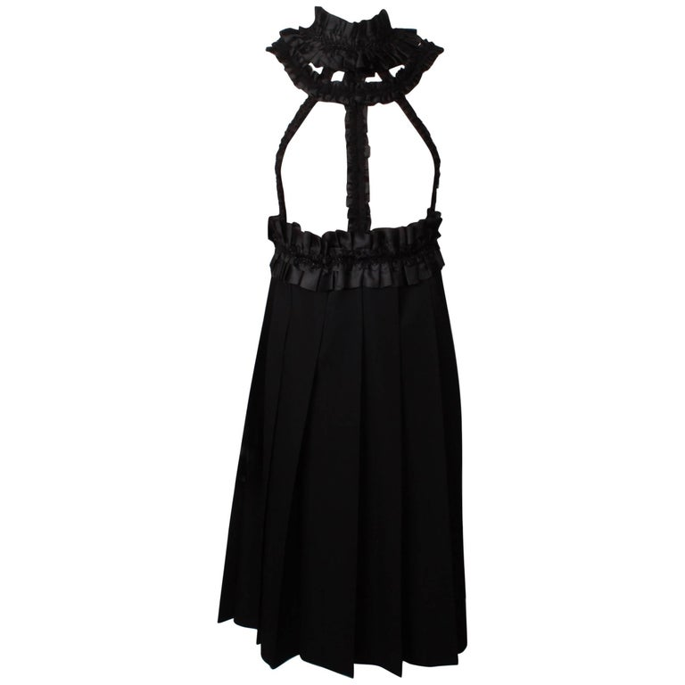 COMME DES GARCONS Evening Pinafore For Sale