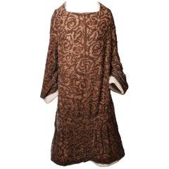 COMME DES GARCONS Silk velvet Devore Dress