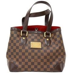 Louis Vuitton Hampstead PM Ebene Damier Canvas Hand Bag