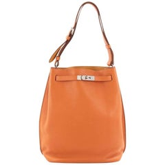 Hermes Eclat So Kelly Handbag Clemence 26