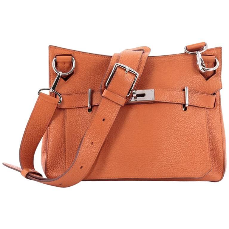 57e6015dc4 Hermes Jypsiere Clemence 31 Handbag at 1stdibs