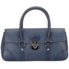 Louis Vuitton Blue Epi Segur PM