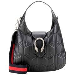 Gucci Dyonysus Black Leather Hobo Bag