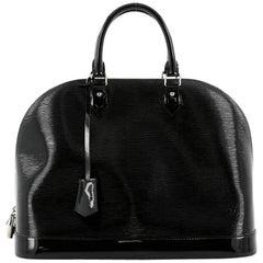 Louis Vuitton Alma Handbag Electric Epi Leather GM