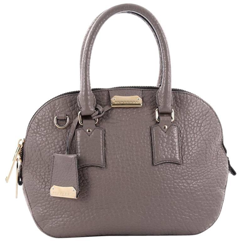 4558c1e0ffde Burberry Orchard Bag Heritage Grained Leather Small at 1stdibs