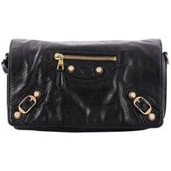 Balenciaga Tool Kit Giant Studs Handbag Leather