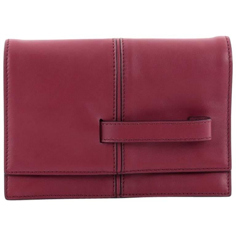 Valentino My Own Code Clutch Leather For Sale