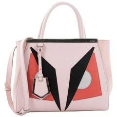 Fendi 2Jours Monster Handbag Calfskin Petite