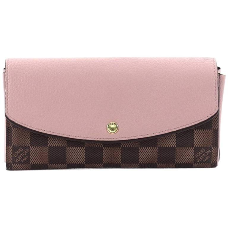 19d6afc86b2e Louis Vuitton Normandy Wallet Damier and Calf Leather at 1stdibs