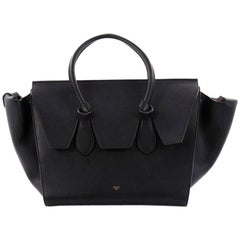 Celine Tie Knot Tote Smooth Leather Large