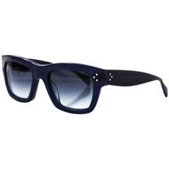 Celine Navy CL 41732 Sunglasses with Case