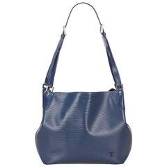 Louis Vuitton Blue Epi Mandara MM