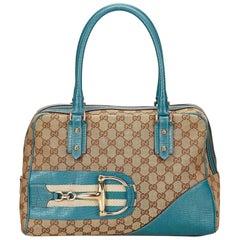 Gucci Brown Hasler Shoulder Bag