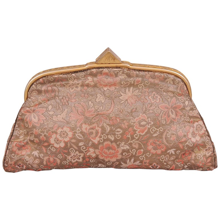f7787295d04 20th Century Bag from 18th Century Russian Imperial Brocade A La Vieille  Russie For Sale