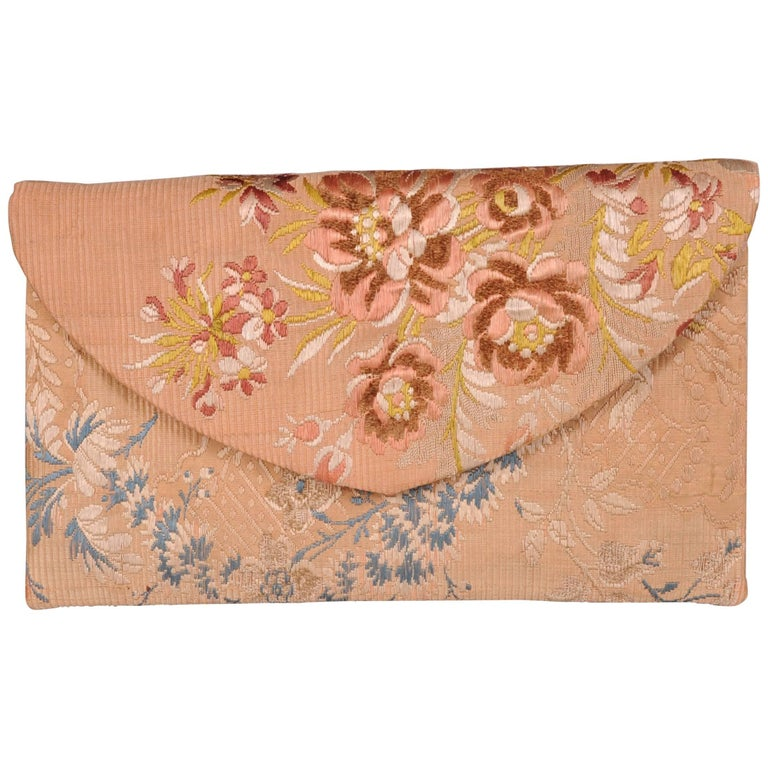 20th Century Bag of 18th Century Imperial Russian Brocade, A La Vieille Russie