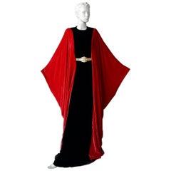 Alexander McQueen Grand Sumptuous Velvet Monastic Gown