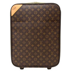 Louis Vuitton Pegase 45 Monogram Canvas Travel Rolling Luggage