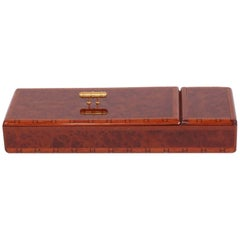 Lovely and Rare and Vintage Hermès Burr elm box