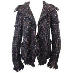 Chanel Fall 2010 Tweed Jacket. Size 38
