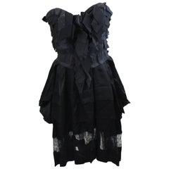 Nina Ricci Bustier Dress