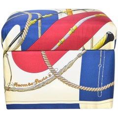 Vintage HERMES Custom Clic Clouc Scarf Kiri Box
