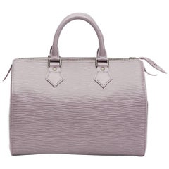 2000 Louis Vuitton Lilac Epi Leather Speedy 25