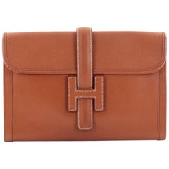Hermes Jige Clutch Courchevel PM
