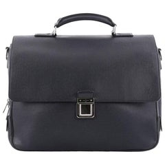Louis Vuitton Vassili Handbag Taiga Leather GM