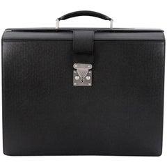 Louis Vuitton Pilot Briefcase Taiga Leather