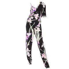 Leonard Silk Jersey Jumpsuit