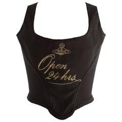 Vivienne Westwood Autumn-Winter 1993 'Open 24 Hours' corset