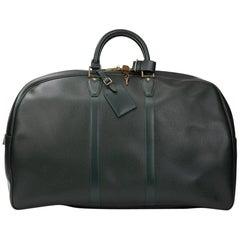 1997 Louis Vuitton Green Taiga Leather Vintage Kendall GM