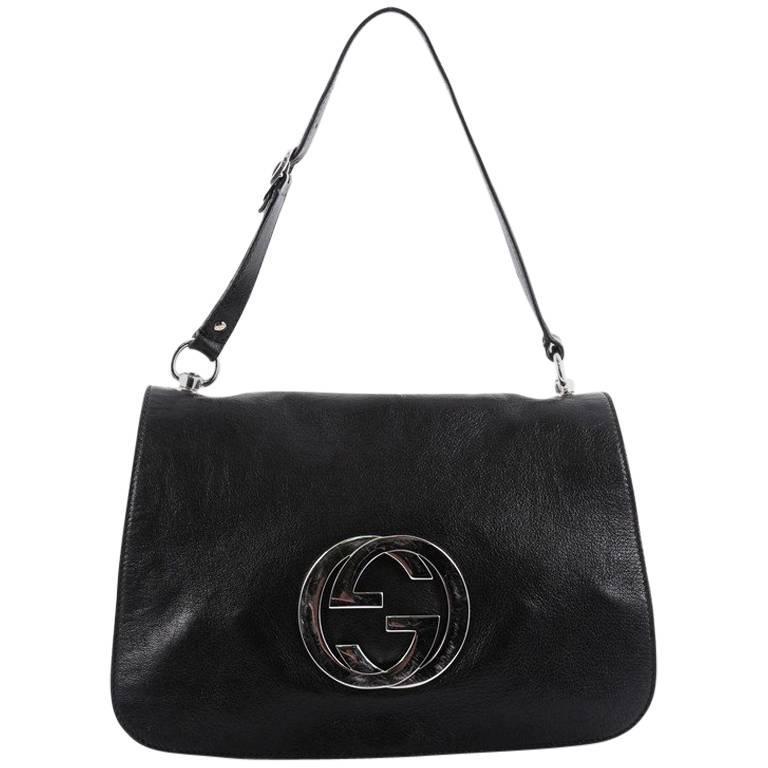 5c3f699ef09c1d Gucci Blondie Flap Shoulder bag Leather Medium at 1stdibs