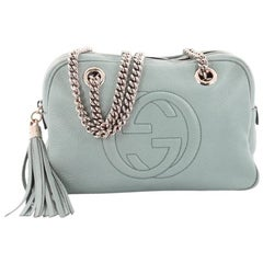 Gucci Soho Chain Zipped Shoulder Bag Leather Small