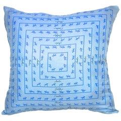 "Vintage Hermès Medium Custom Scarf Pillow ""Vivant du Chival"" iwj4449-1"