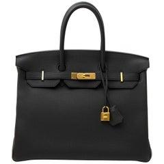 Hermès Birkin 35 Togo Plomb GHW