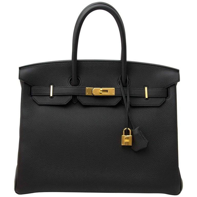 Hermès Birkin 35 Togo Plomb GHW 1