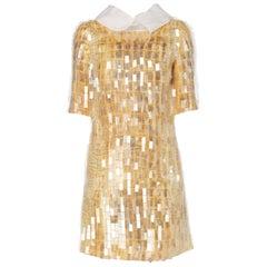 Nicholas Oakwell, print dress, circa 2012