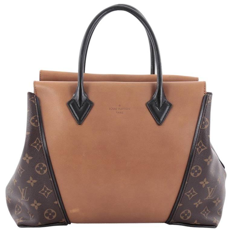 49d1e5b41425 Louis Vuitton W Tote Monogram Canvas and Leather PM at 1stdibs